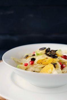 Frl. Moonstruck kocht!: Fenchelsalat mit Orangen und Avocado