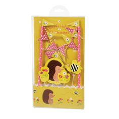 Honey The Hedgehog Cake Bunting from Rex London - the new name for dotcomgiftshop. Great value gifts and homeware in original designs.