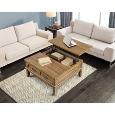 Cool lift top coffee table. Would like in oak or cherry.