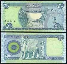 500 New Iraq Dinars Uncirculated Free Shipping Old Money Coins Stamps