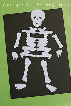 make a skeleton with your name!