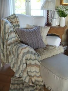 Mias Landliv: Warm, chunky knits