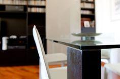 Alter / Soggiorno - Appartamento  Dettaglio fissaggio gamba-piano