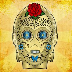 Star Wars Day of the Dead Art Prints 4