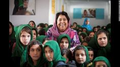 www.farhadazima.org Girl's education as the solution to climate change issues in Afghanistan.