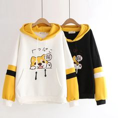 Shiba Hoodie SKU: Length : / Bust : / Shoulder w / sleeve: / Tip : Only one size in-stock, suitable for sizes S / M Kawaii Fashion, Cute Fashion, Fashion Outfits, Emo Fashion, Shiba Inu, Kawaii Hoodie, Mode Kawaii, Kawaii Shop, Stylish Hoodies