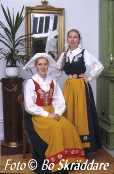 Denmark, Sweden, Norway, Iceland, Finland (includes Saami tribes)    All of Scandinavia wears a common or similar dress largely influenced by Denmark and Germany because of centuries of shared rule by the Danes (greatly influenced by their German relatives to the south). Finland's dress is related to the Swedish a common heritage springing from nearly 600 years of Swedish rule.