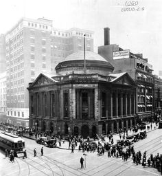 The Cleveland Trust Company, George B. Post  Sons, architects