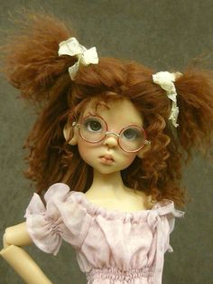 OOAK Handmade Wigs for MSD by Monica Spicer