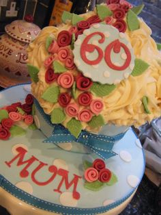 Cath Kidson inspired Giant cupcake