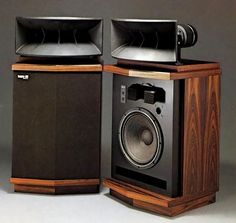 Vintage Audio Scepter 500 by Onkyo Speakers Pro Audio Speakers, High End Speakers, Audiophile Speakers, Horn Speakers, Diy Speakers, High End Audio, Hifi Video, Speaker Box Design, Audio Room