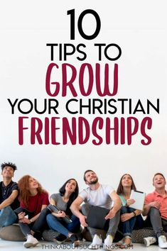 Explore some tips on how you can grow in your Christian friendships. A friend from God can be a huge blessing, but even then we can learn to cultivate a deeper connection. Christian Friends, Christian Girls, Christian Marriage, Christian Living, Christian Faith, Christian Singles, Christian Relationships, Christian Parenting, Bible Verses About Friendship