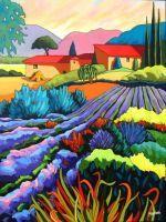"""Jardins de Provence (Jardins of Provence)"" - Louise Marion"
