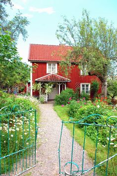 """BULLERBYN - or Sevedstorp, Småland, Sweden. """"Alla vi barn i Bullerbyn"""", a children book by Astrid Lindgren."""