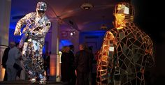 Mirror man at the Hoya gala event at Venue 583 park avenue in NYC!