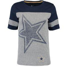 Dallas Cowboys Nike Women's Championship Drive Gold Collectionan T-Shirt - Gray