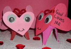 Bible Message Love Bugs Craft You can make with your Sunday School kids!