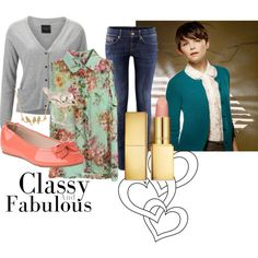 """""""Mary Margaret Inspired Look"""" by themagicwemade on Polyvore"""