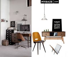 Perfect workplace for design lovers! #office #workplace #desk #work
