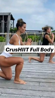 Gym Workout Videos, Butt Workout, Easy Workouts, Fitness Workout For Women, Fitness Tips, Health Fitness, Workout For Beginners, Total Body, Full Body