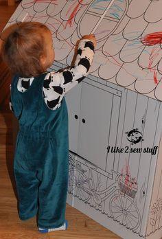 Schnittmuster und Nähanleitung Retro-Spielhose – Nickylatzhose für Kleine Overalls, Retro, Blog, Pants, Fashion, Princess, Sewing Patterns, Games, Tutorials