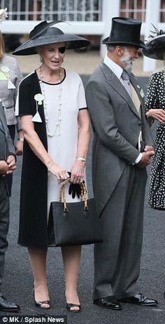 dailymail: Royal Ascot 2015, Day 1, June 16, 2015-Prince and Princess Michael of Kent