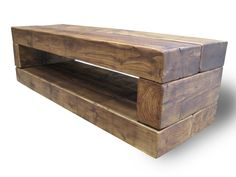 Chunky Stretch TV Stand - The Cool Wood Company #simpletvstands