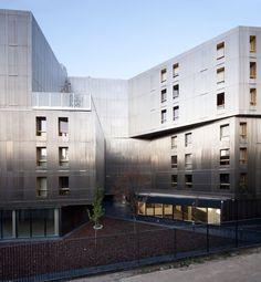The Irene Joliot Curie Residence  CHRISTIAN HAUVETTE, BE HAUVETTE, DATA ARCHITECTES