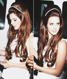 Lana Del Rey uhh her hair = want