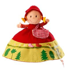 Little Red Riding Hood 3-in-1 Reversible Doll