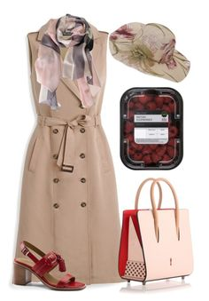 """British"" by bren-johnson ❤ liked on Polyvore featuring White House Black Market, G.H. Bass & Co., Christian Louboutin and Burberry"