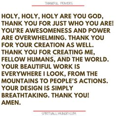 Here's a great batch of 30 thankful prayers for you. We are given so much, often times we focus on what we don't have or what we want, instead of being thankful for all that we have. These 30 short prayers will help you foster a thankful heart. Thank You Lord For Answered Prayers, Thankful Prayers, Prayers Of Gratitude, Short Prayers, Thankful Heart, Grateful, Thanksgiving Prayers For Family, Prayer For Family, Prayer For You