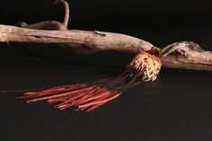 long leather fringe   ...    seed beads ....  turquoise  ....   seed  .....