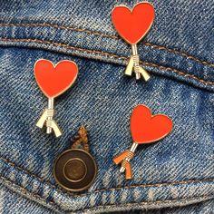 Love Is Power Enamel Pin