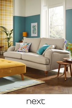 Sofa, Couch, Next At Home, Art Deco, House Styles, Interior, Trends, Furniture, Home Decor