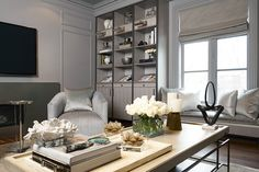 Wall Units & Built-ins - Watchtower Interiors Inc. Built In Wall Units, Wall Unit Designs, Bedroom Storage, Built Ins, Master Bedroom, The Unit, Wall Units, Interiors, Master Suite