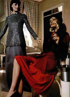 Nina Ricci. L'Officiel magazine 1973