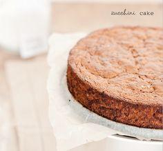 Quick Baked Zucchini Cake via @iquitsugar