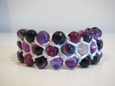 ▶ Easy triple row macrame bracelet - YouTube
