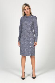 Платье Valentina 0709535: купить за 2980 руб в интернет магазине с бесплатной доставкой High Neck Dress, Dresses, Fashion, Turtleneck Dress, Vestidos, Moda, Fashion Styles, Dress, Fashion Illustrations