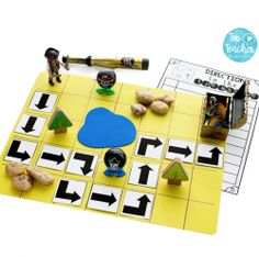 Incorporating coding into your classroom doesn't have to mean using Beebots, iPads and other gizmos! This activity is a great example of how you can introduce the concept of coding in a simple, hands on, cost effective way! Read more about this awesome ac Inspired Learning, Fun Learning, Steam Activities, Preschool Activities, Shape Poems, Computational Thinking, Coding For Kids, Love Math, Little Pigs