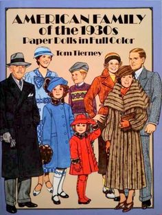 American Family of the 1930s paper dolls - Onofer-Köteles Zsuzsánna - Picasa Webalbum