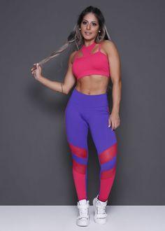 Legging / Calça - Donna Carioca Sexy Leggings Outfit, Girls In Leggings, Workout Attire, Workout Wear, Sport Fashion, Fitness Fashion, Swimsuits 2014, Fashion Vestidos, Fashion Branding