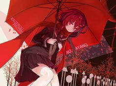 Ayano | Kagerou Project | Artist: Rain Lan [Pixiv]