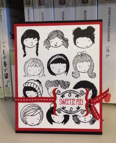 Sweetie Pie and Sweetie Pie Frames Photopolymer stamp sets - SU - Jill Olsen