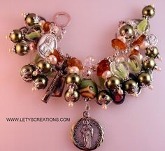 Catholic St. Jude Relic, Saints, Religious Medals Handcrafted Charm Bracelet | eBay www.letyscreations.com