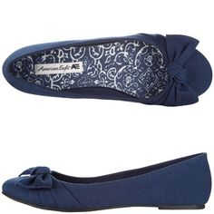 Womens American EagleWomen's Avery Bow Flat :: Perfect with my purple skinnies <3