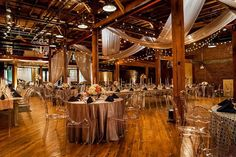 Urban digs meet Southern sophistication in this refurbished downtown warehouse. Exposed brick walls and wooden beams adorn the multi-level event space which can accommodate large crowds on the first and second level (both of which can be rented separately). aVenue is known to host gorgeous wedding receptions, banquets, seated dinners and live performances. styleblueprint.com/nashville/guide/avenue