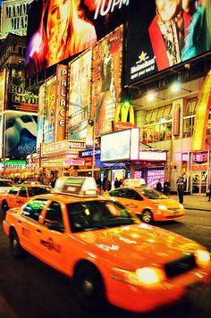 Times Square offers the quintessential New York conglomeration of bright lights and oversized billboards that soar above the relentless crowds and thick streamers of concrete.