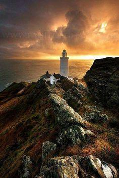 Beautiful Lighthouses around the World -Start Point Lighthouse, Stockenham, Devon England Saint Mathieu, Devon England, Cornwall England, Devon Uk, South Devon, Devonshire England, Devon Coast, West Coast, Northern Lights